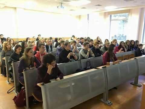 Situasi belajar di salah satu kampus di Moskow (Ist)